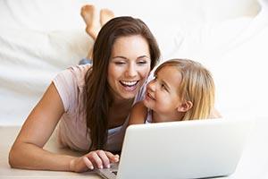 profiter de sa famille grace à un travail à domicile